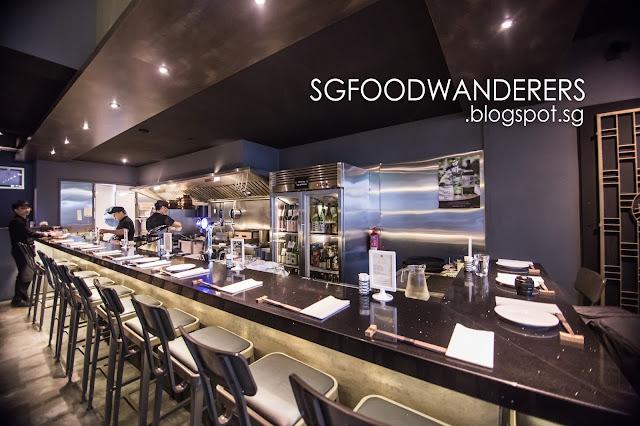 Tapas & Sake Bar (Japanese-European Fusion) @ Singapore's CBD