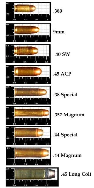 Bullet Comparison Charts : bullet, comparison, charts, Vintage, Outdoors:, Comparison, Charts