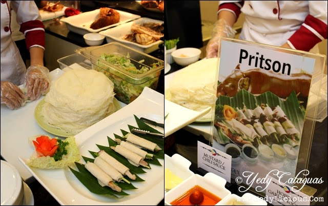 Pritson at Kamayan, Dads Ultimate Buffet