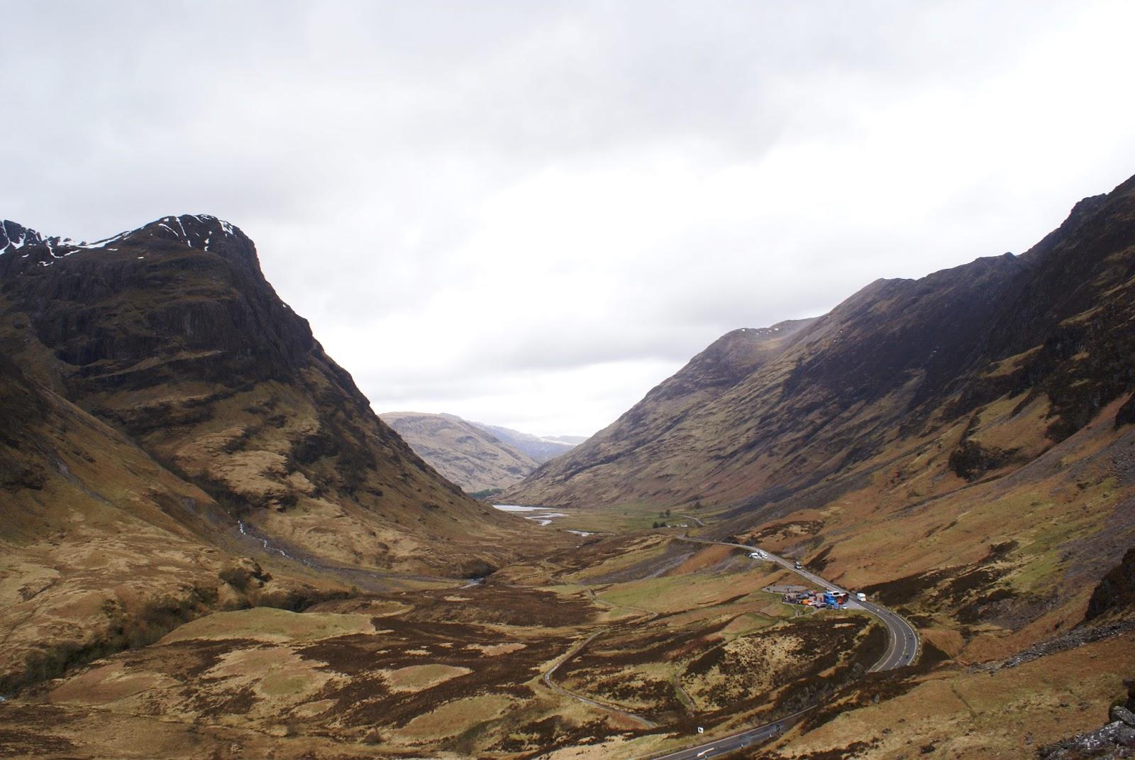 glen coe highlands scotland united kingdom uk