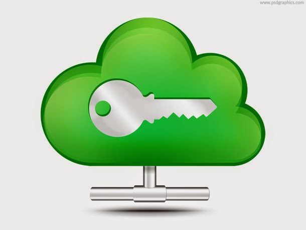 Secure Cloud Storage Icon