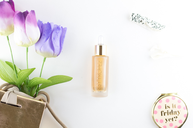 st tropez self tan luxe facial oil review