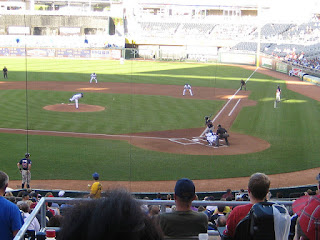 First pitch, Twins vs. Royals