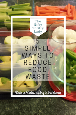 Get back to basics in the kitchen and learn how to reduce food waste with 5 simple tips