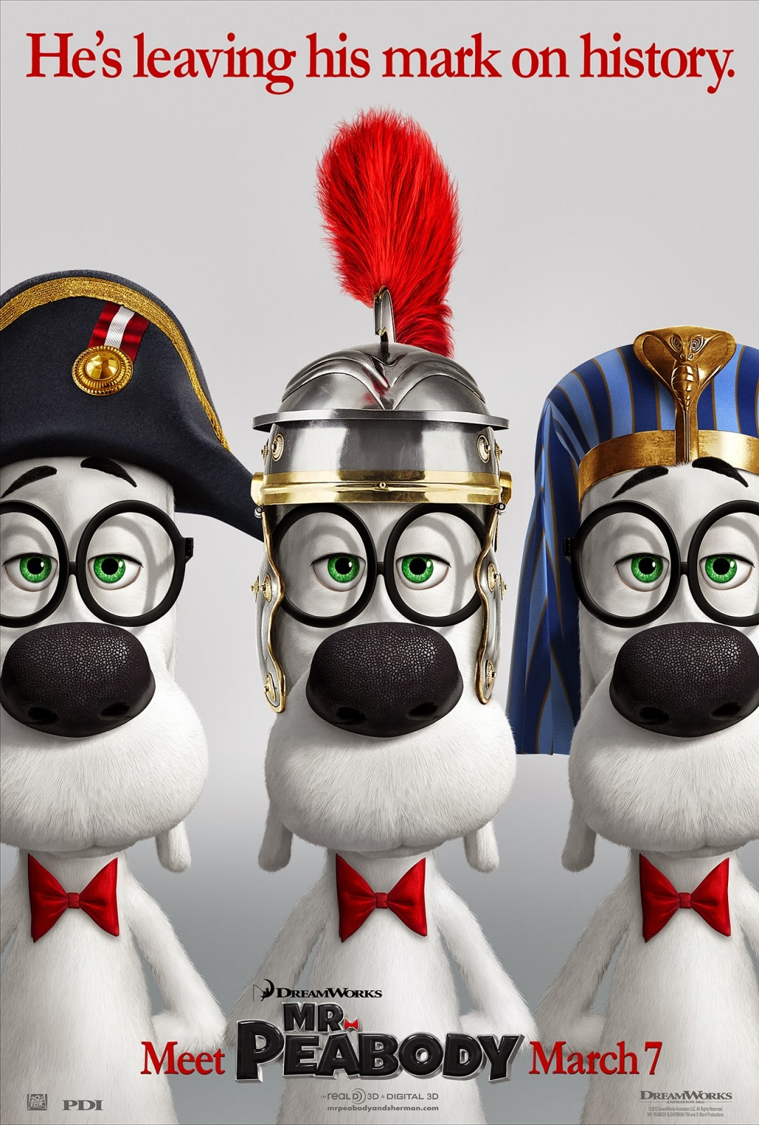 Mr. Peabody & Sherman 2014 movie review