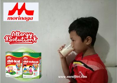 Anak bebas alergi dengan susu soya