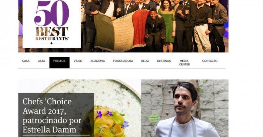 VIRGILIO MARTÍNEZ: Chef Peruano elegido el mejor Cocinero del mundo