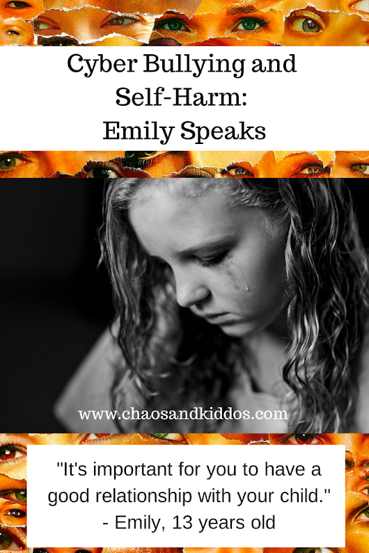 Cyber Bullying and Self-Harm: Emily Speaks