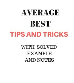 AVERAGE HAND WRITTEN NOTE 3 WITH SOLVED EXAMPLE AND SHORTCUT METHODS