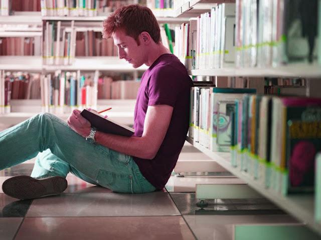 Memilih tempat membaca