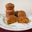 Recipe: Orange Carrot Muffins Using Carrot Juice Pulp and Almond Pulp