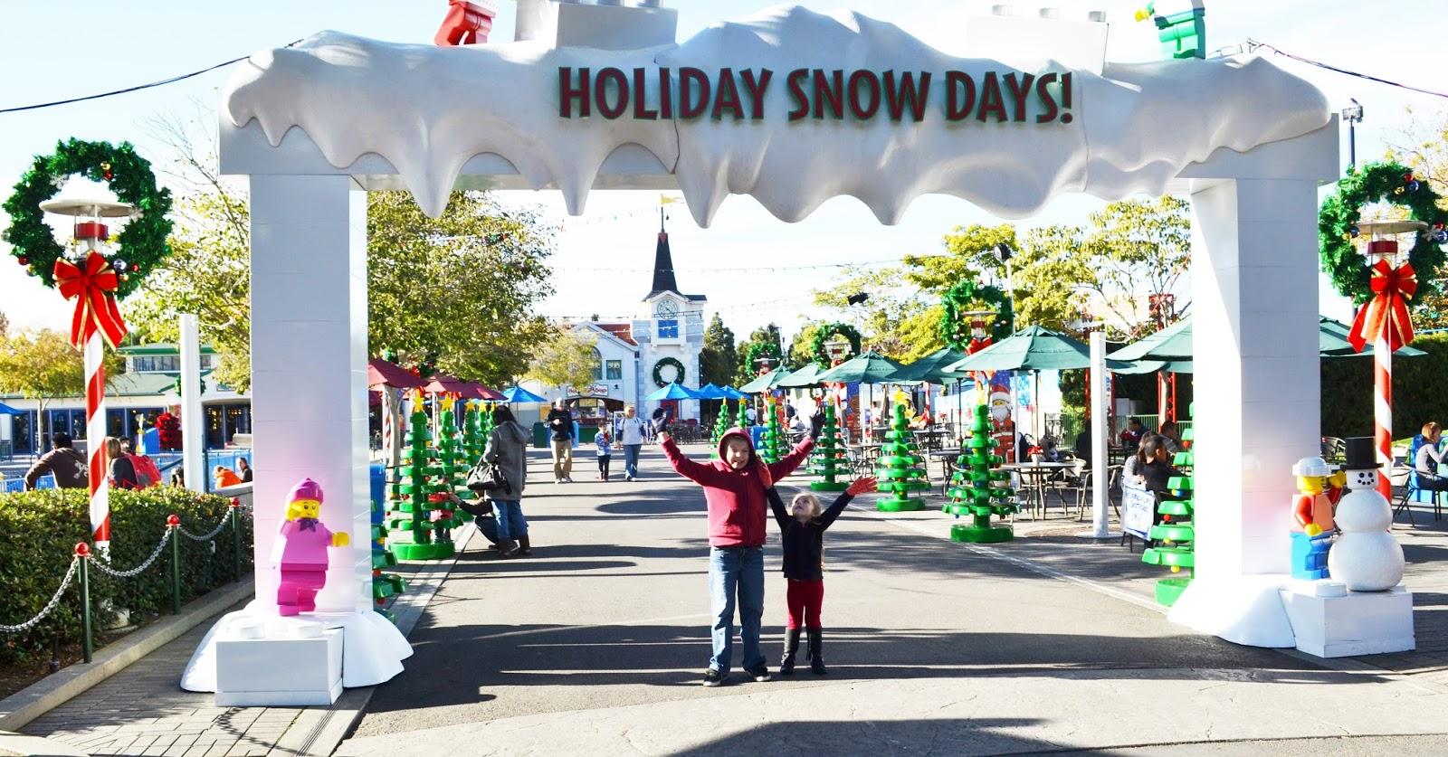 Polkadots on Parade: Legoland California Holiday Snow Days ...