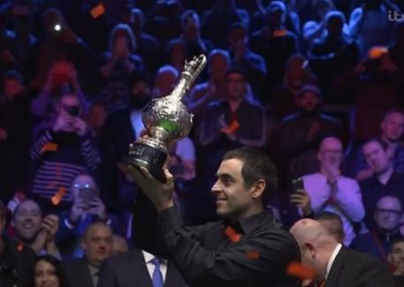 Ladbrokes World Grand Prix Snooker final 2018, Ronnie O'Sullivan, wins, title, Ding Junhui, purse, prize money,results.