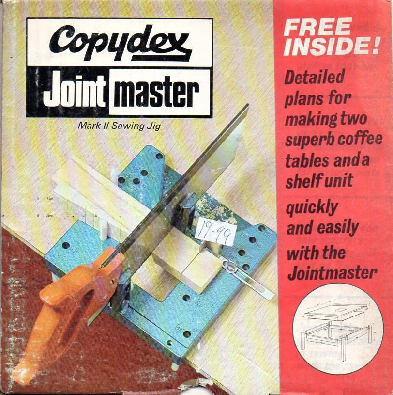 Copydex Jointmaster box - fee inside, detaild plans for making two superb coffee tables