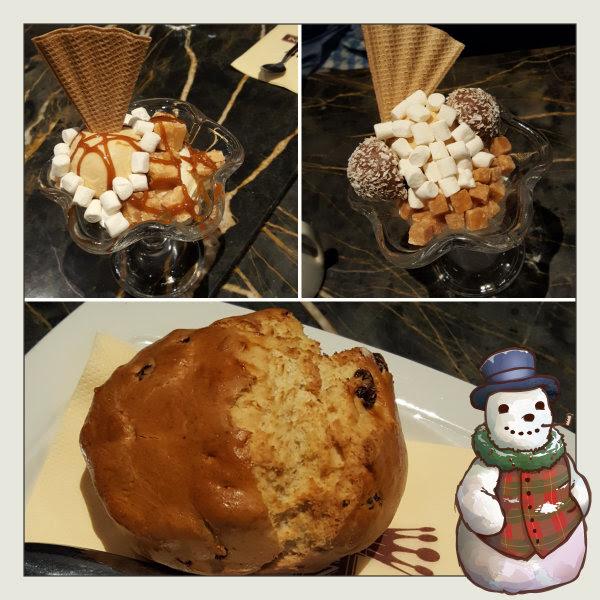 nardini's ice cream sundae scone