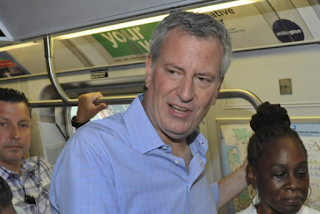 Homeless booted from subways so de Blasio could have 'clean' ride