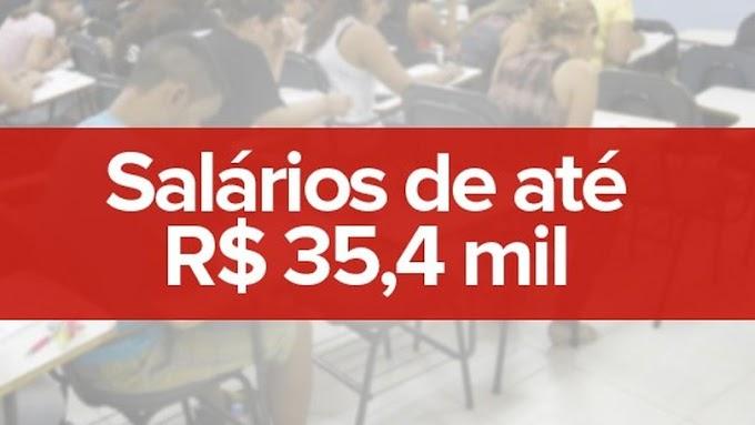 EMPREGO E RENDA: 180 concursos inscrevem para 23,5 mil vagas em todo o país; veja  lista