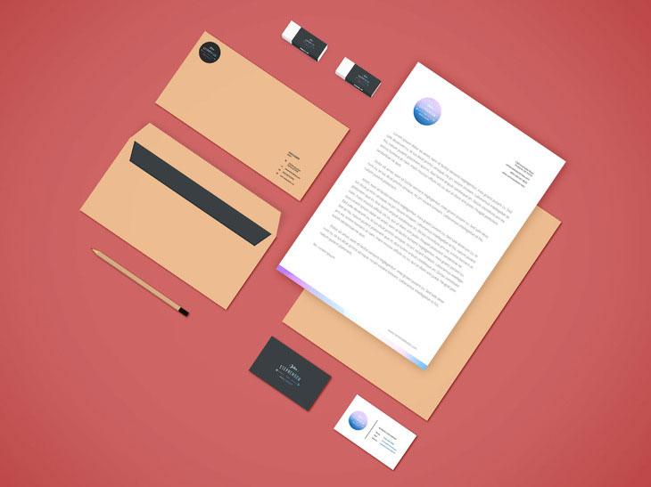 Branding-Stationery Mockup