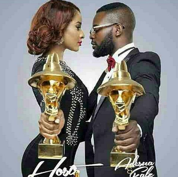 Falz & Adesua Etomi Announced As Host #Headies2016