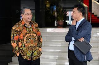 Ketua Dewan Penasihat Diaspora Indonesia, Dino Patti Djalal bersama anggota diaspora lainnya berkunjung ke Kantor Kementerian Desa, Pembangunan Daerah Tertinggal dan Transmigrasi (Kemendes PDTT) di Kalibata Jakarta.