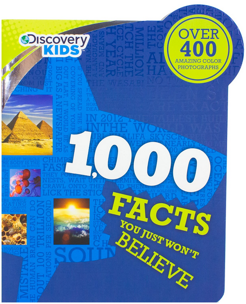 Discovery Kids 1000 Strange but True Animal Facts  cover