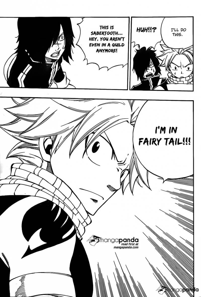 Fairy Tail Ch 425: Sabertooth