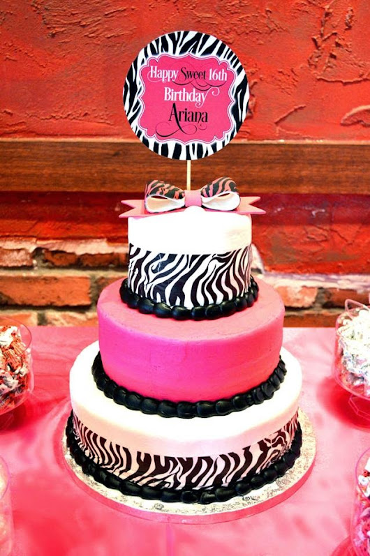 Lavish Parties and Prints by Talia: {Planning the Sweetest of Sweet Sixteen Parties}