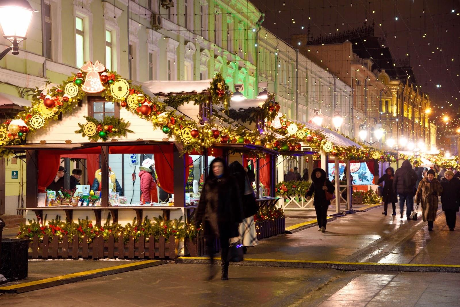 Фотографии Новогодней Москвы