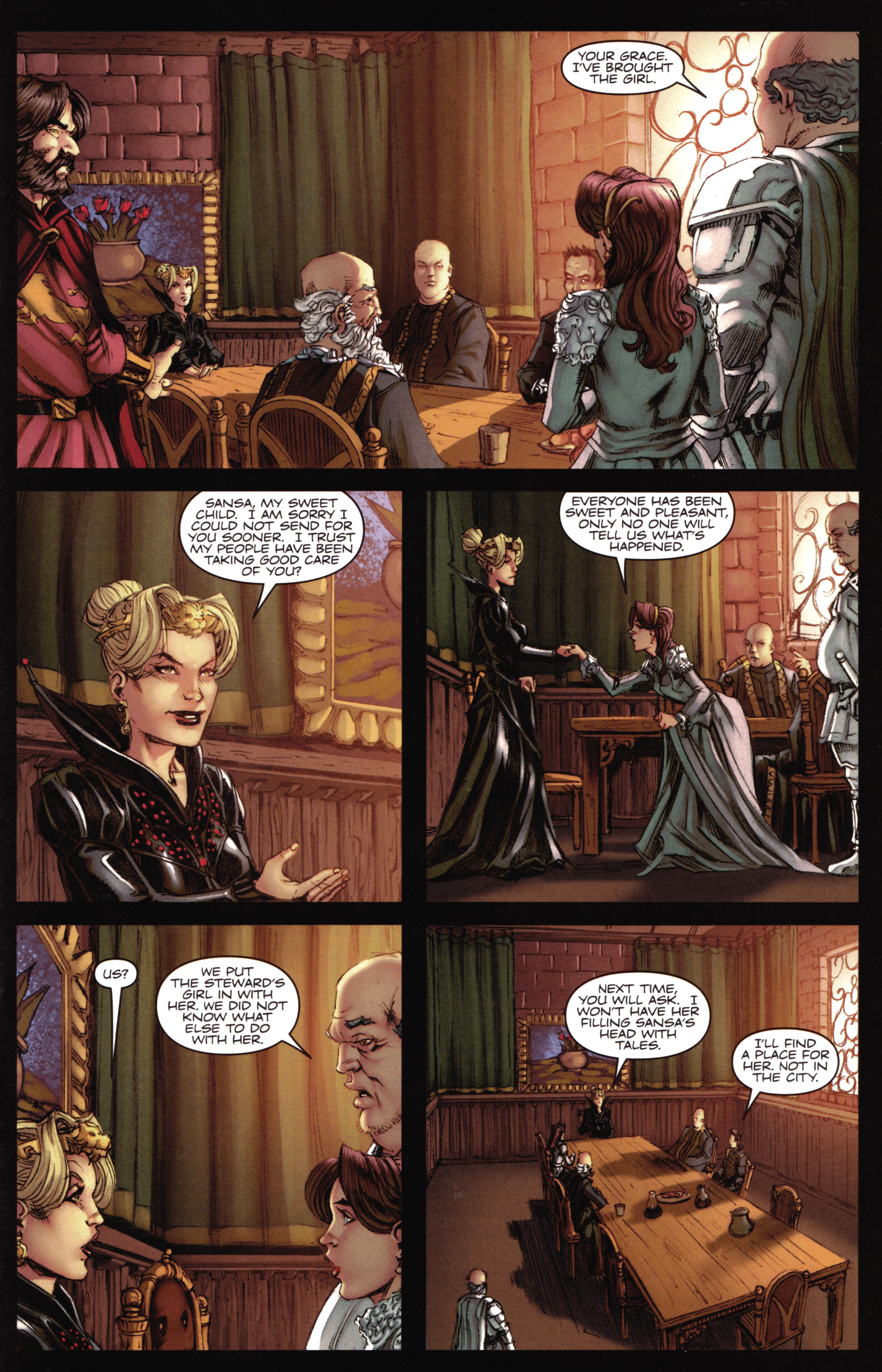 Read online A Game Of Thrones comic -  Issue #16 - 27