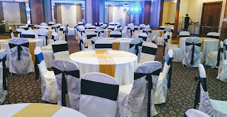 Sitting arrangements in wedding banquet at country inn and suites By Radisson Navi Mumbai
