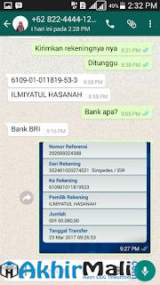 Refund Agen CUG AkhirMali.com Garansi CUG Aman