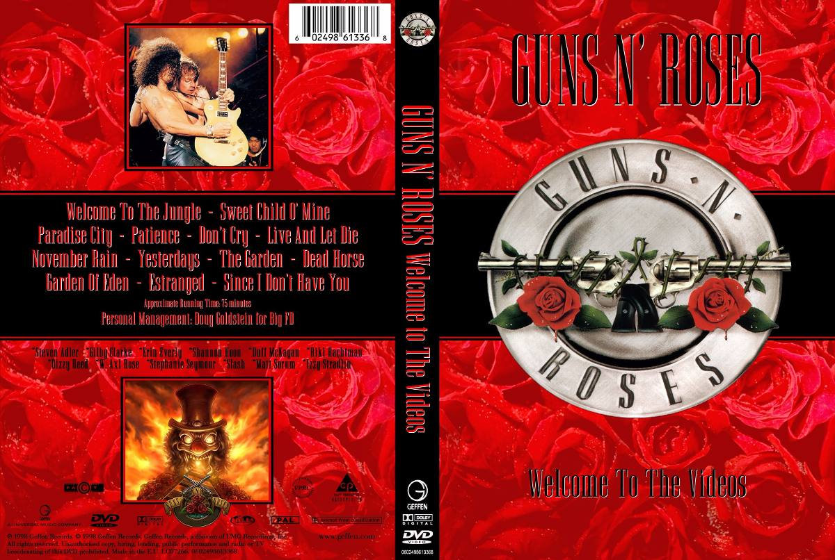 Guns N Roses Welcome To The Videos DVD-R Guns 2BN 2BRoses 2BWelcome 2BTo 2BThe 2BVideos 2BDVD R 2BXANDAODOWNLOAD