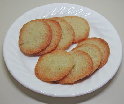 ... Lemon Lime Butter Wafers is from Fine Cooking Cookies published in