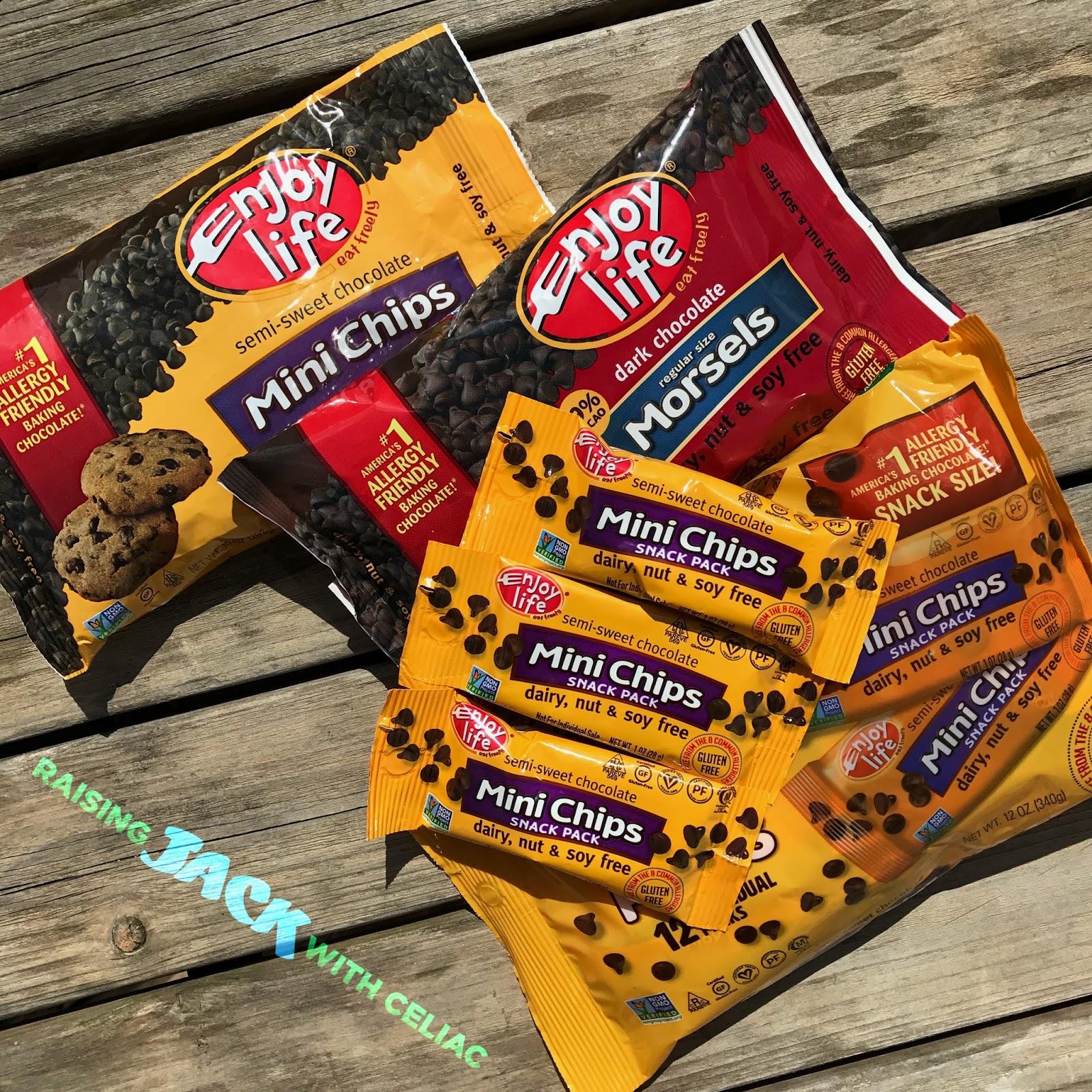 Raising Jack With Celiac : Enjoy Life Foods Dark & Semi-Sweet ...