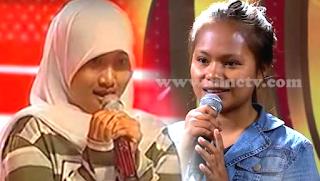 Penampilan Fatin saat ikut audisi
