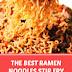 The Best Ramen Noodles Stir Fry