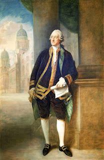 John Montagu, 1718-92, 4th Earl of Sandwich, 1st Lord of the Admiralty, por Thomas Gainsborough (1783).