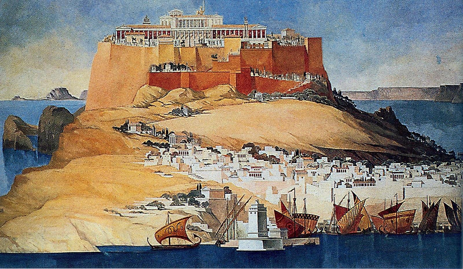 Acropolis of Lindos; Ακρόπολη Λίνδου