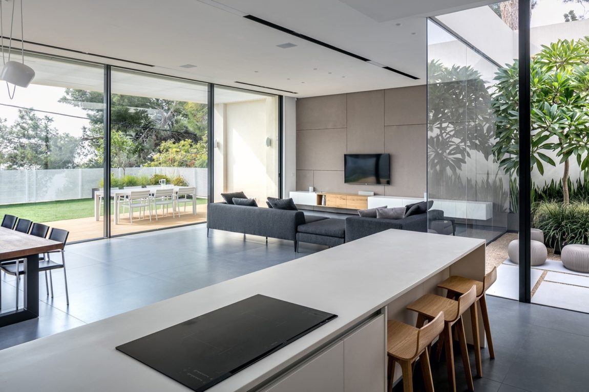 Una villa contemporanea in Israele
