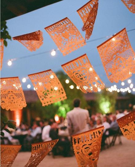 Rustic Mexican Wedding: PartyDQ: Rustic Party At Santa Barbara Historical Museum