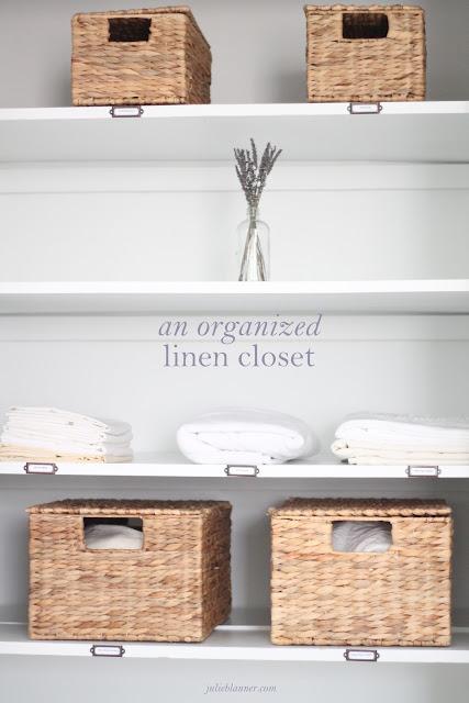 Pretty Linen Closet