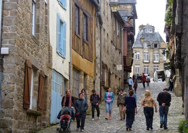 Calle de Jerzual, Dinan.