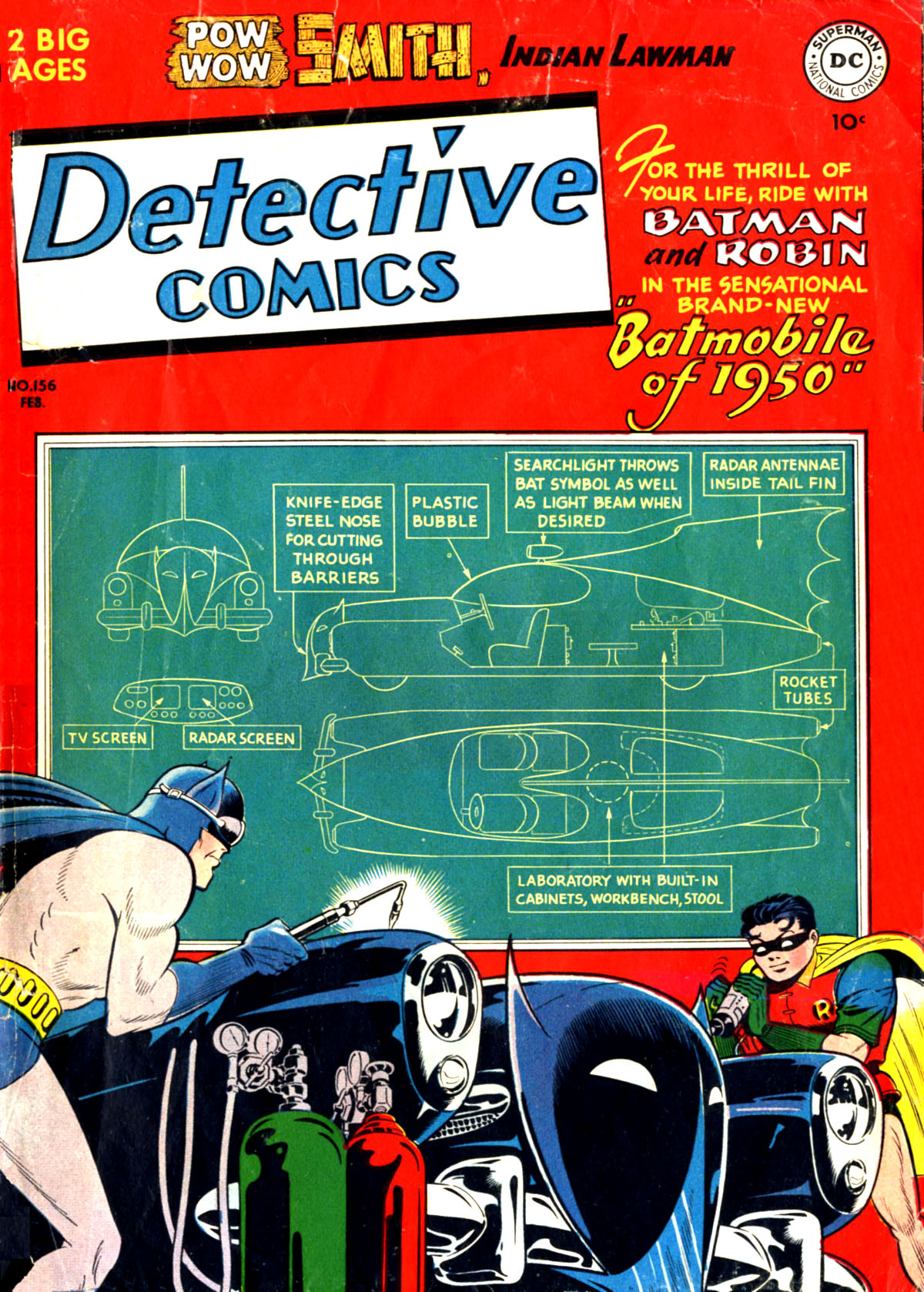 Read online Detective Comics (1937) comic -  Issue #156 - 1