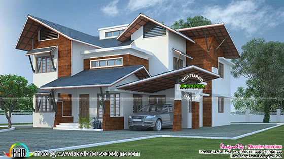 Fusion contemporary home