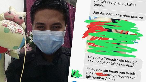 Akibat Buat 'Live' Di Facebook, Lelaki Ini Diganggu Gadis Yang Dahagakan Seks
