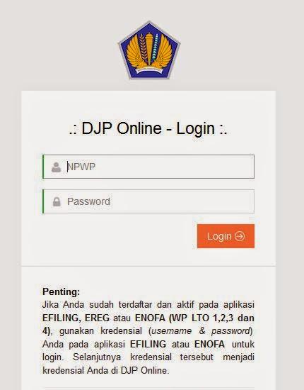 Djp Online Panduan Lapor Pajak Spt Tahunan Menggunakan Djp Online