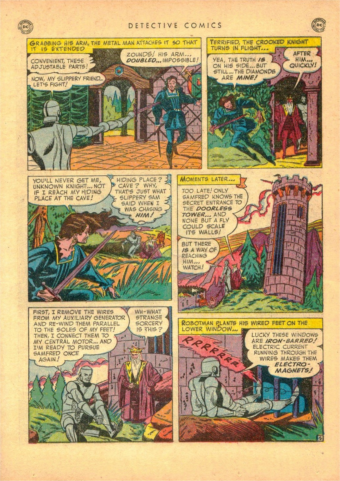 Read online Detective Comics (1937) comic -  Issue #161 - 31