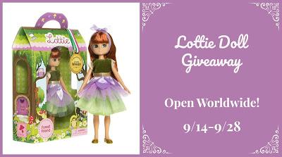 Lottie Doll Giveaway 9/28 @Lottie_dolls