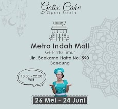Gotix Cake Open Booth Metro Indah Mall