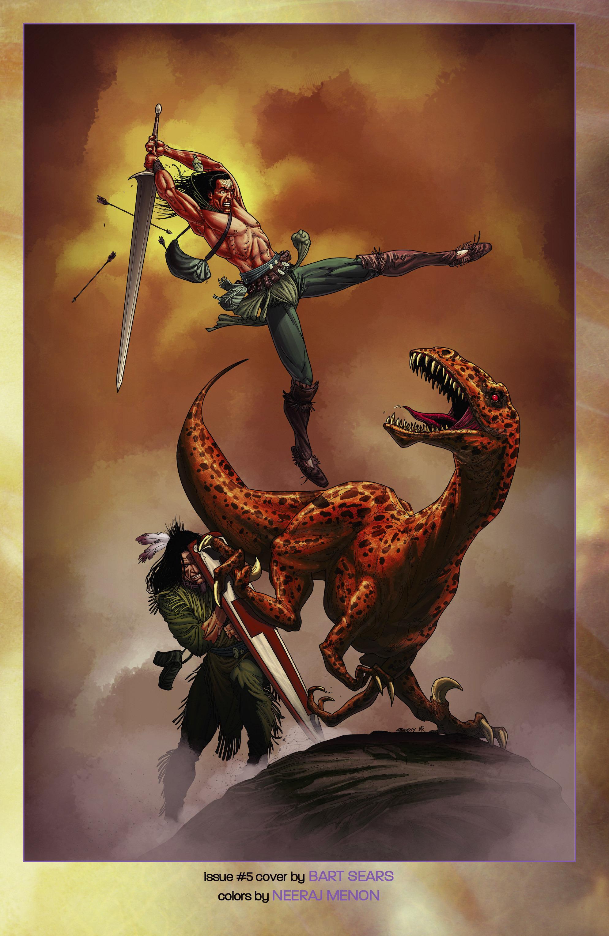 Read online Turok: Dinosaur Hunter (2014) comic -  Issue # _TPB 2 - 105